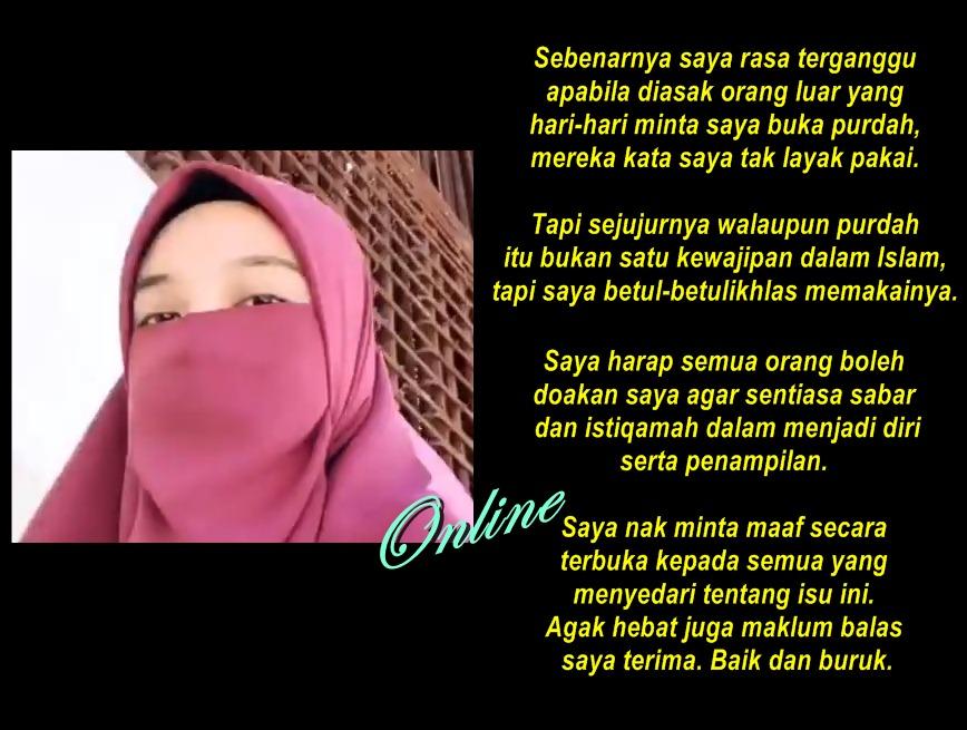Isteri Pu Abu Buka Purdah Update Single Mom News Tel